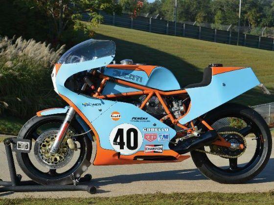 Ducati 750 f1 race spec