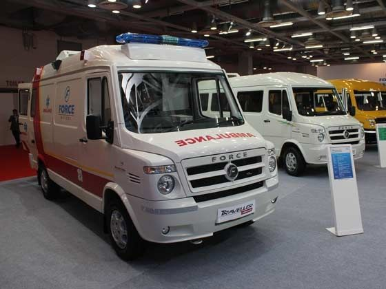 Updated Traveller 26 ambulance