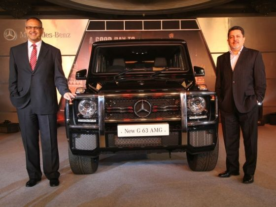 Mercedes-Benz brings in the G63 AMG