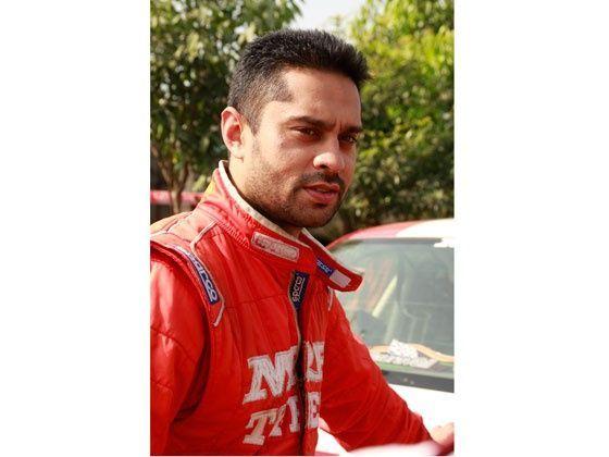 MRF driver Gaurav Gill