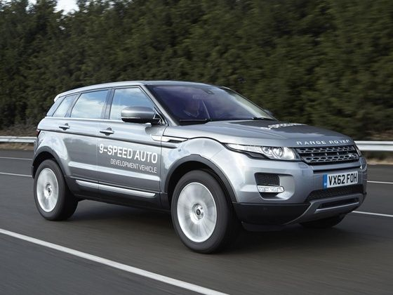 Land Rover Evoque nine-speed