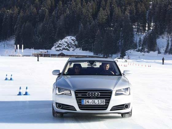 Audi Ice Driving Experience - A8L
