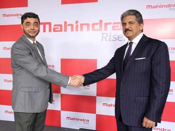Mahindra unveils its new corporate logo