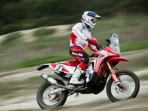 Helder Rodrigues , Team Honda Racing Corporation, 2013 Dakar Rally