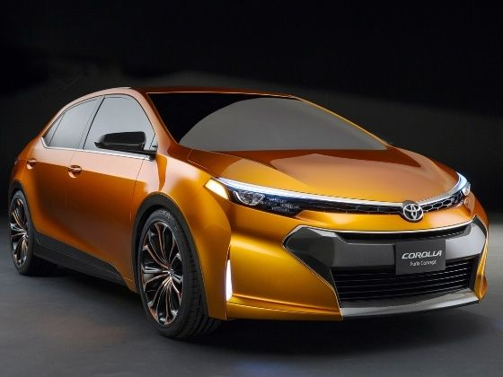 Toyota Corolla Furia concept at 2013 Detroit Motor Show