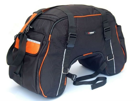 ViaTerra Claw motorcycle luggage