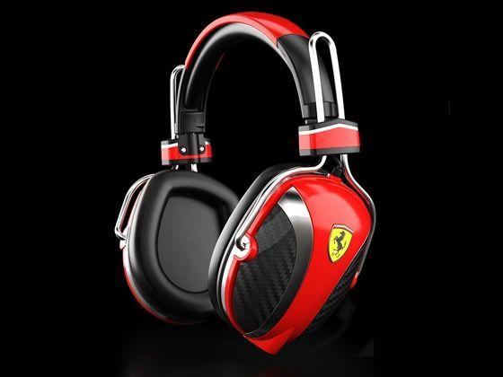 Ferrari Scuderia P200 headphone by Logic3