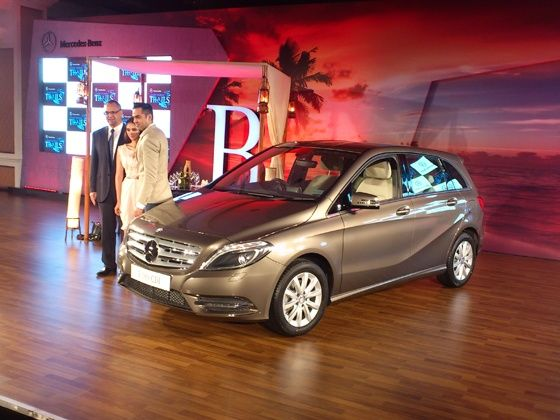 mercedes-benz b-class diesel launched