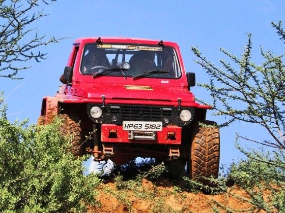 Modified Maruti Suzuki Gypsy