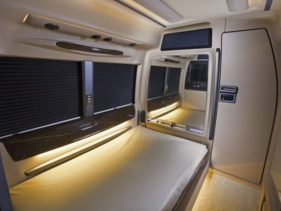 DC Isuzu Lounge Interior Bedroom