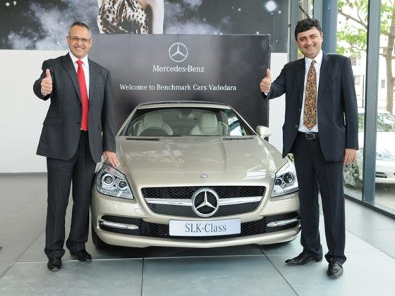 Mercedes-Benz opens first showroom in Vadodara