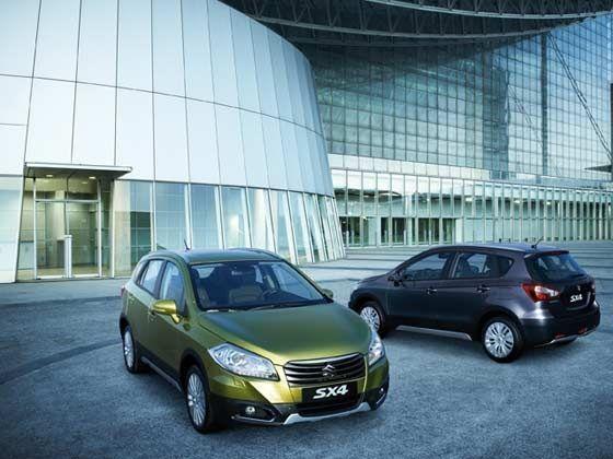 Suzuki new SX4 Crossover