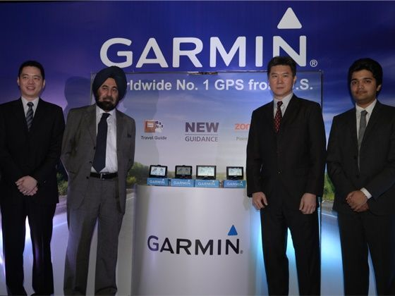 Garmin GPS device launch