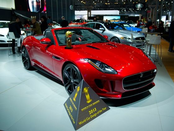 Jaguar F-Type wins 2013 World Car Design of the Year