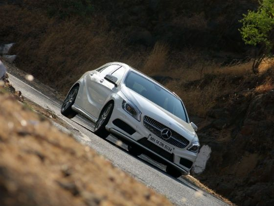 Mercedes-Benz A-Class in action
