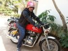 Royal Enfield Continental GT hits the road!