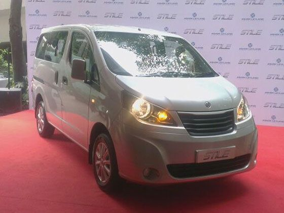 Ashok Leyland Stile MPV launched