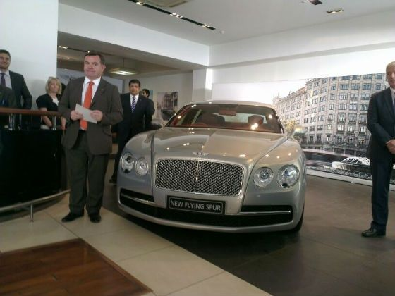 Bentley Flying Spur launched at Rs 3.10 crore