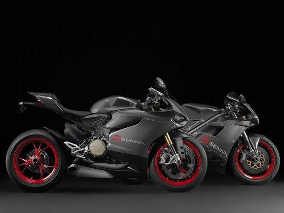 Ducati 1199 Panigale S Senna Edition and the 916SP