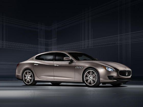 Maserati Quattroporte Ermenegildo Zegna Limited Edition exterior shot