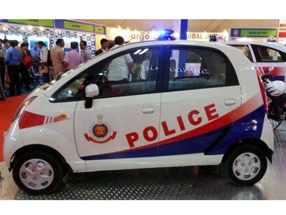 Tata Nano Police Vehicle