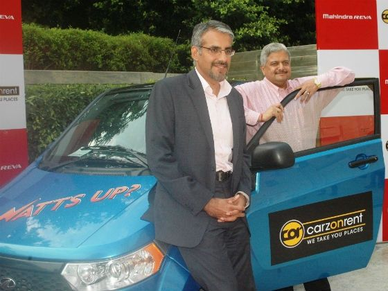 Carzonrent-Mahindra alliance introduces e2o for hire