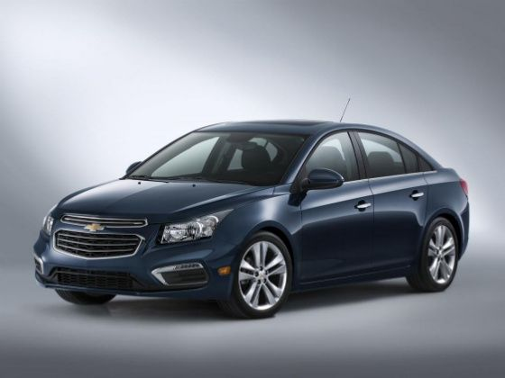 2015 Chevrolet Cruze facelift revealed ahead of New York debut