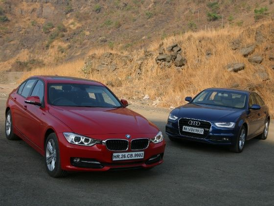 Audi A PS Vs BMW D Sportline Comparison Review ZigWheels - Bmw vs audi