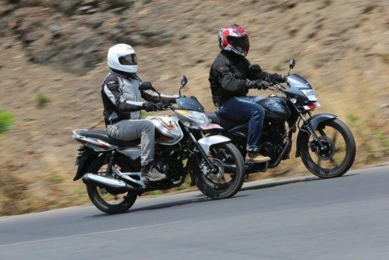 Bajaj Discover 125M vs Honda CB Shine