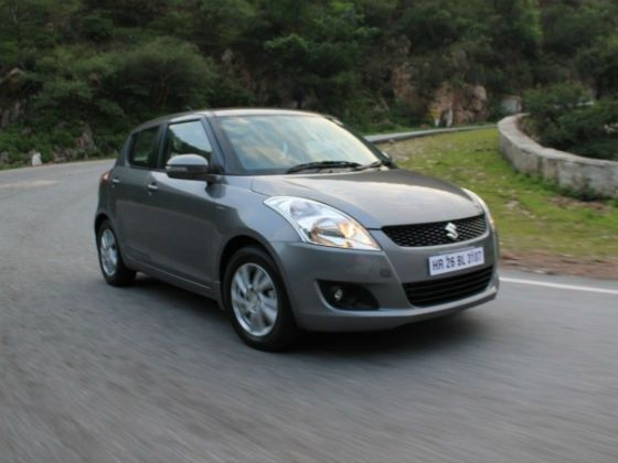 Maruti Swift in Action