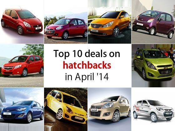 Top 10 deals on hatchbacks in April 2014