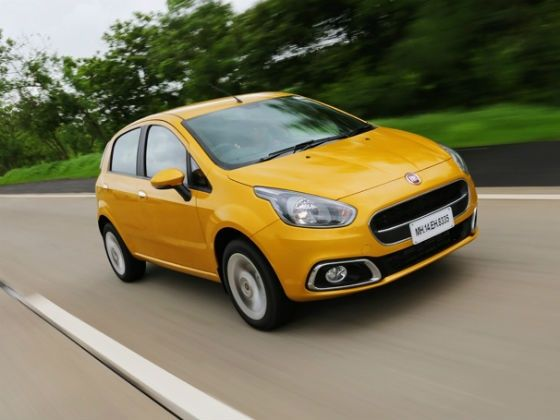 Fiat Punto Evo launched at Rs 4.55 lakh