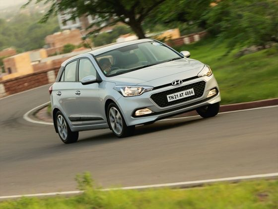 Hyundai Elite i20 action shot