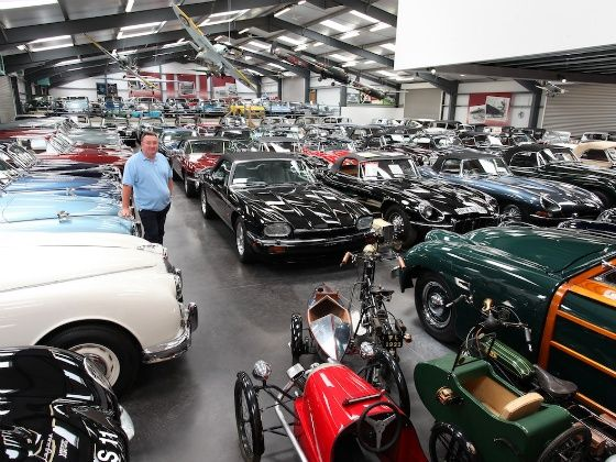Jaguar buys largest private British classic car collection in the world