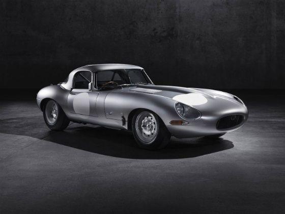 Jaguar E-Type Lightweight front