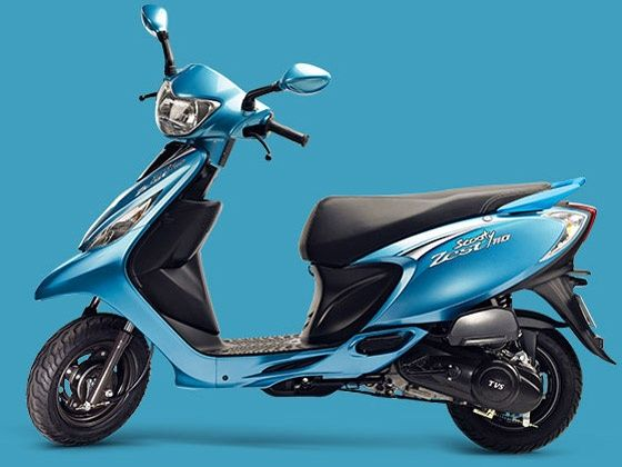 TVS Scooty Zest takes on its scooter competition