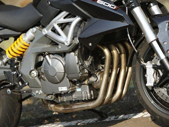 Benelli TNT 600i Engine