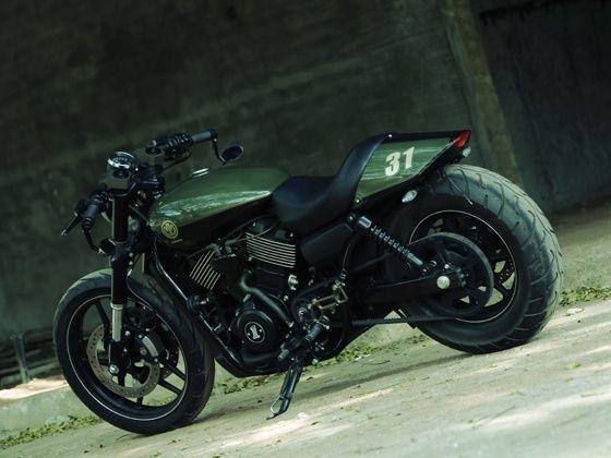 Moto Miu Katanga Uno Street 750 Rear