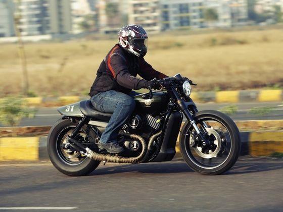 moto miu katanga uno custom street 750 review - zigwheels