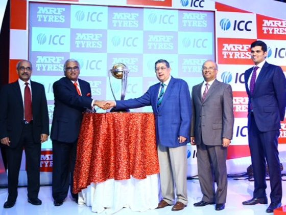 MRF becomes global partner for ICC Cricket World Cup 2015