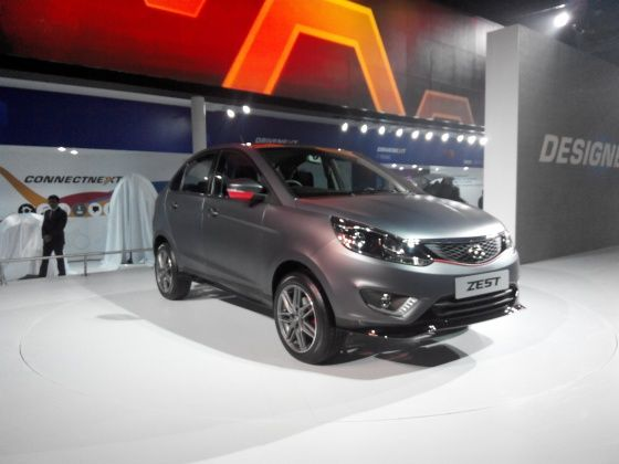 Tata Zest at 2014 Auto Expo