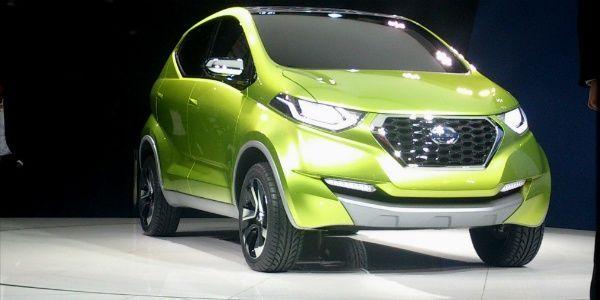 2014 Indian Auto Expo: Datsun unveils Redi-Go crossover concept, showcases Go+ MPV
