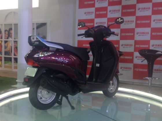 2014 Indian Auto Expo: Yamaha launches Alpha 113cc scooter at Rs 49,518