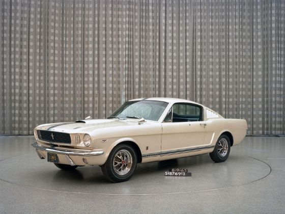 Edsel Ford II 1965 Mustang Front