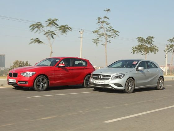BMW 1 Series vs Mercedes-Benz A-Class Comparison