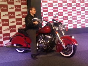 Indian Motorcycle launched in our country