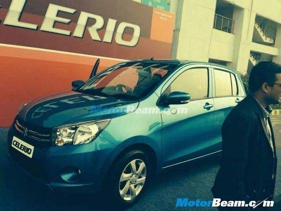 Maruti At 2014 Auto Expo Celerio