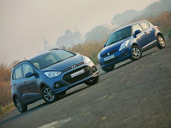 Hyundai Grand i10 vs Maruti Suzuki Swift: Comparison - ZigWheels