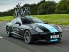 F-TYPE Coupe high performance support vehicle revealed