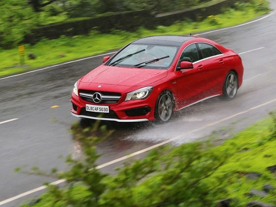 2014 Mercedes-Benz CLA45 AMG launched at Rs 68.5 lakh